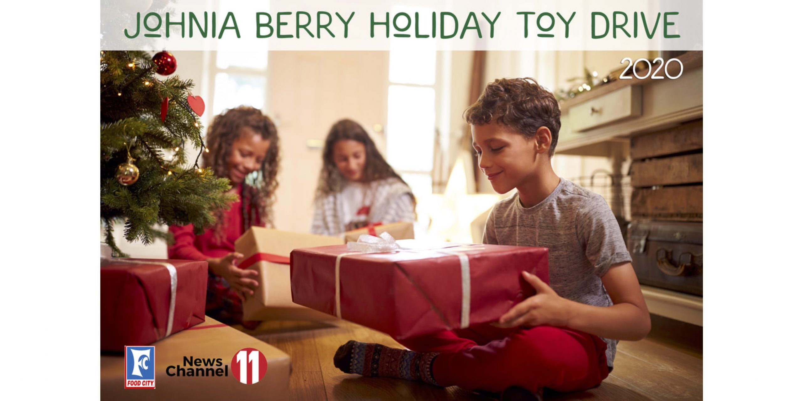 Johnia Berry Virtual Toy Drive 2020